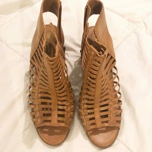 Mossimo Caged Open Toe Heels